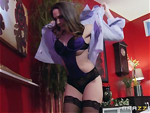 Married doll Chanel Preston gets titfucked and her cootchie humping by thief