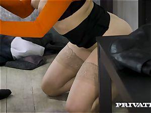 Private.com - Mia Malkova romps in the tunnel