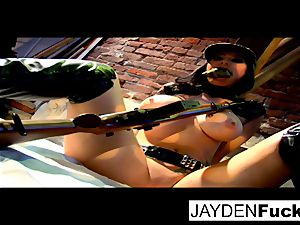 Jayden gets engaged on a successful solo man meat