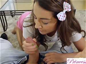 PrincessCum- StepSis grinds Bros lollipop toying Xbox S2E7