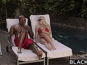 BLACKED very first bi-racial for hotwife girlfriend Kylie Page