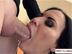dirty, ultra-kinky, Jasmine knows how to make a dude cum