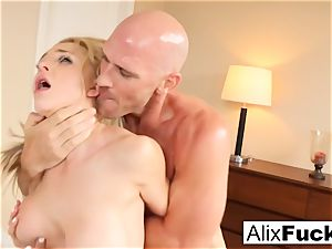 hot 3-way with Alix, Kissa, and Johnny