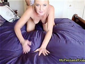 instructor Paris instructs the virgin Part 2