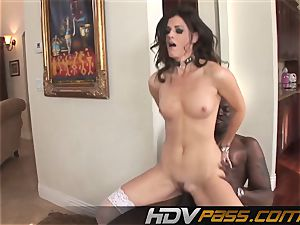 HDVPass multiracial intercourse with India Summers