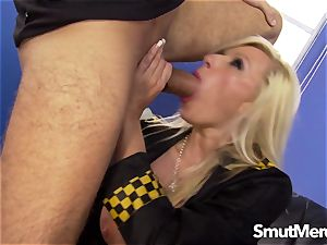 beautiful officer Michelle Throne porked firm
