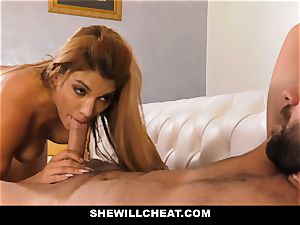 SheWillCheat - steaming cuckold wife revenge tearing up