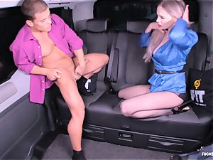 fucked IN TRAFFIC - steamy car sex with brit Carly Rae