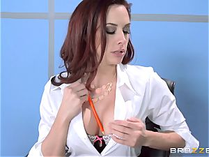 Chanel Preston humps her fabulous man at work