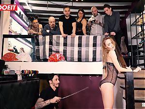 LETSDOEIT - Kira Gets rough torment at bondage & discipline party