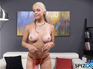 marvelous super-naughty honey Sarah Vandella has a rump butt-plug slammed in her bootie