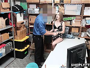forced to pummel a pecker by the law's hard hand