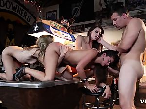 Allie Haze And friends goes super-naughty And kinky