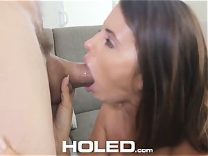 HOLED anal nail and facial with Adriana Chechik