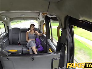 faux cab Sahara gets a rock-hard fuck-stick exercise