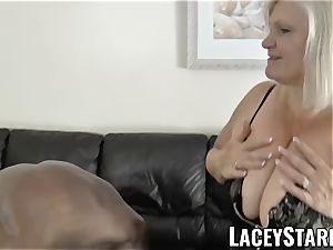 LACEYSTARR - granny praying for young black shaft