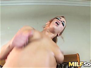 jamming milf Gabriella Banks in the butt