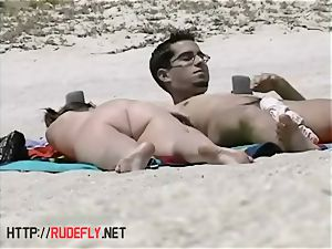 amazing nakedness of some naturist honies on the beach