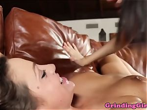 sumptuous lesbos sixtynining together