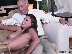 aged female phat tits Ivy makes an impression with her ginormous breasts and caboose