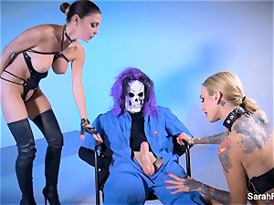 thick bone Skullman plows two super-hot buxom cougars