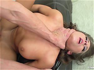 LiveGonzo Madison Ivy mind-blowing black-haired Gets Her slit