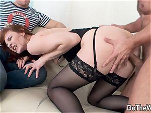 Cuck observes wifey Irina Pavlova Have fucky-fucky