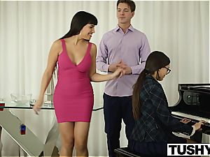 TUSHY ass-fuck Lessons for splendid bore Maya Grand