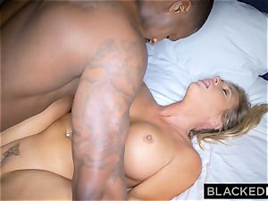 BLACKEDRAW blond trophy wifey Cucks Her spouse With bbc