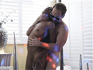 hard-core porno with chocolate hotty Anya Ivy