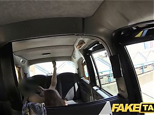 fake taxi sandy-haired gets muddy with future sugar parent
