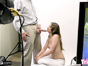 Jillian Janson gets tricked into ravaging on a casting