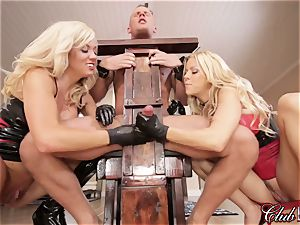 spunky Ms. Alexis Fawx dominates her fresh submissive