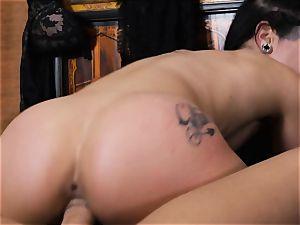 Katrina Jade riding firm on top