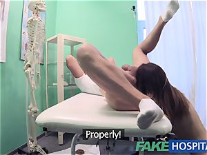 FakeHospital filthy medic nails thief and creampies her
