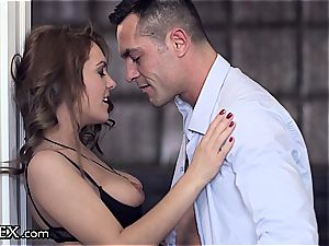 ultra-kinky Dominica makes love with zest