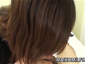 Machiko Nishizaki - kinky JAV wifey pulverized By A Stranger