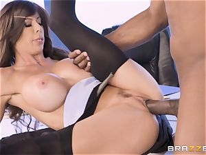 Alexis Fawx smashed by phat bbc