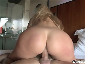super hot latin stunner likes to guzzle explosions of cum