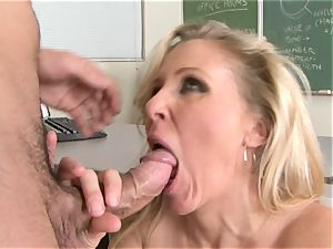 Julia Ann is a hardcore cougar who wants to put her cooch on a rock hard manhood
