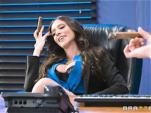 bum pounding mummy Ariella Ferrera in the office