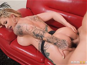 greased up ripped jeans donk bang with Ryan Connor