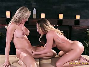 Carter Cruise and Brandi love in all girl pornography