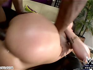 Negro nails plump sweetie to it dumping