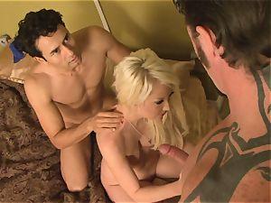 Courtney Taylor gets off on cuckolding her boyfriend