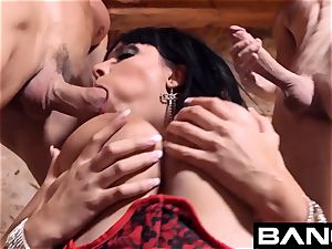 enticing French milf Anissa Kate Compilation