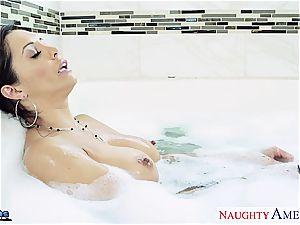 huge-boobed dark-haired honey Francesca Le gets penetrated