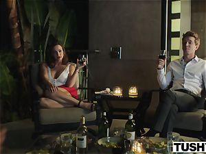 TUSHY Abigail Macs mischievous anal venture